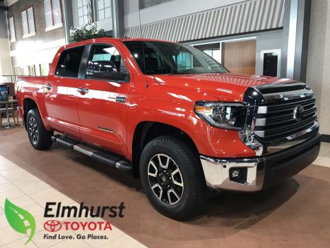 New 2018 Toyota Tundra Limited Crew Cab Pickup