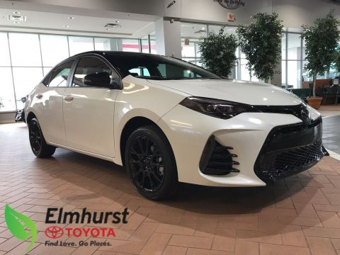 New 2018 Toyota Corolla SE with the Black Label Package