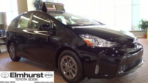 New Toyota Prius v Three