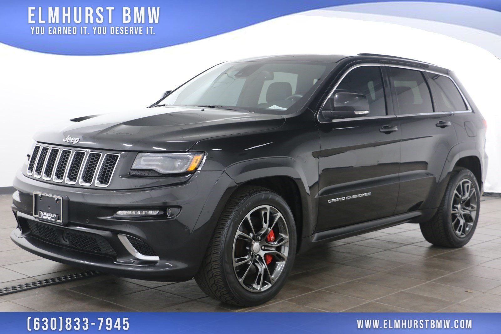 Pre-Owned 2015 Jeep Grand Cherokee SRT