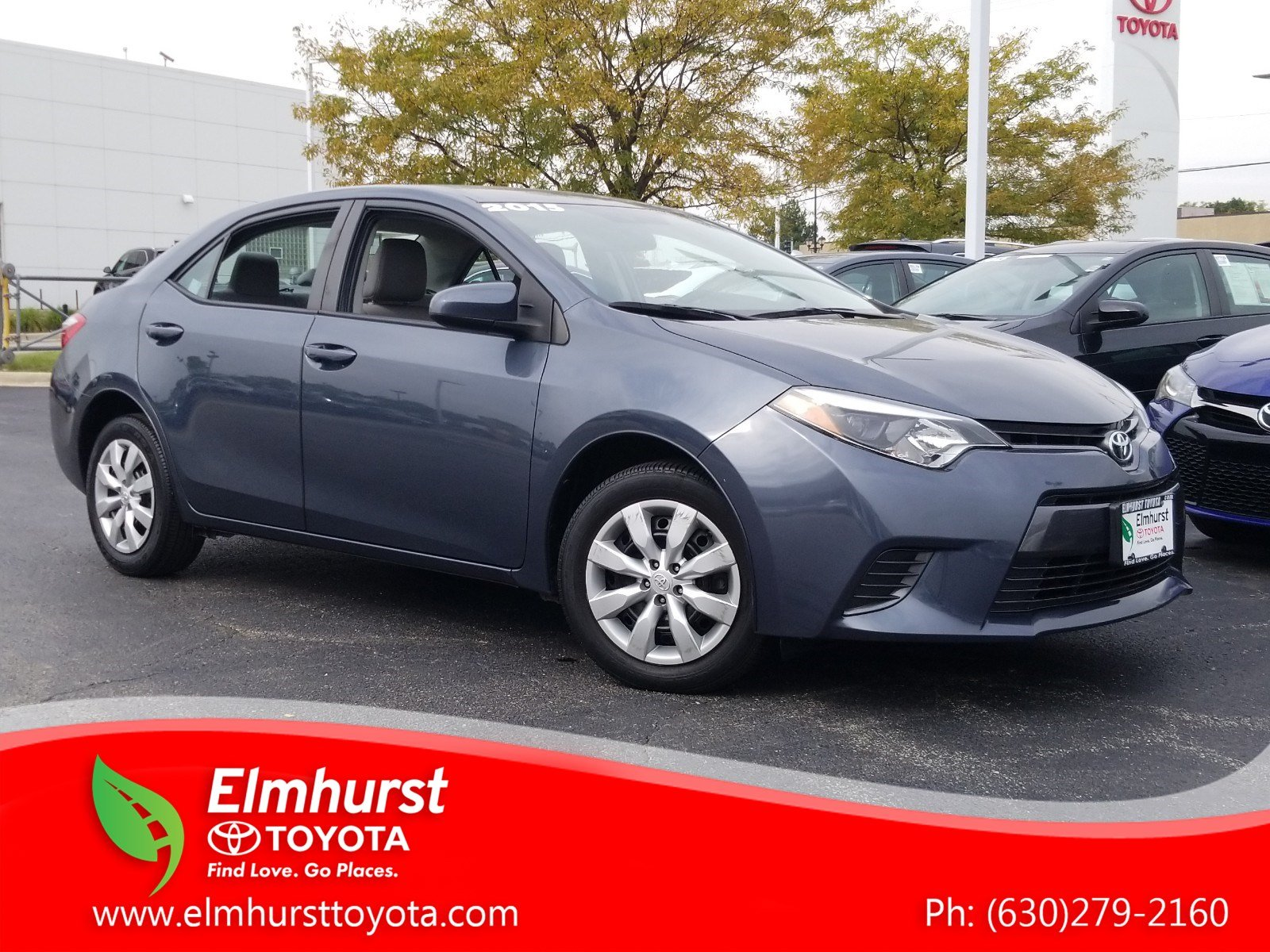 Pre Owned 2015 Toyota Corolla LE 4D Sedan in Elmhurst 8824P