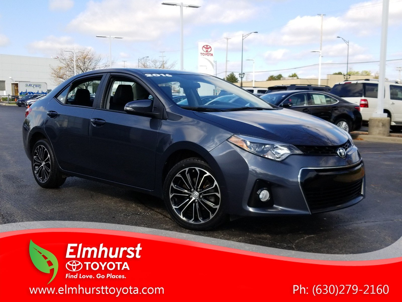 Pre Owned 2016 Toyota Corolla S Plus 4D Sedan in Elmhurst 8831P