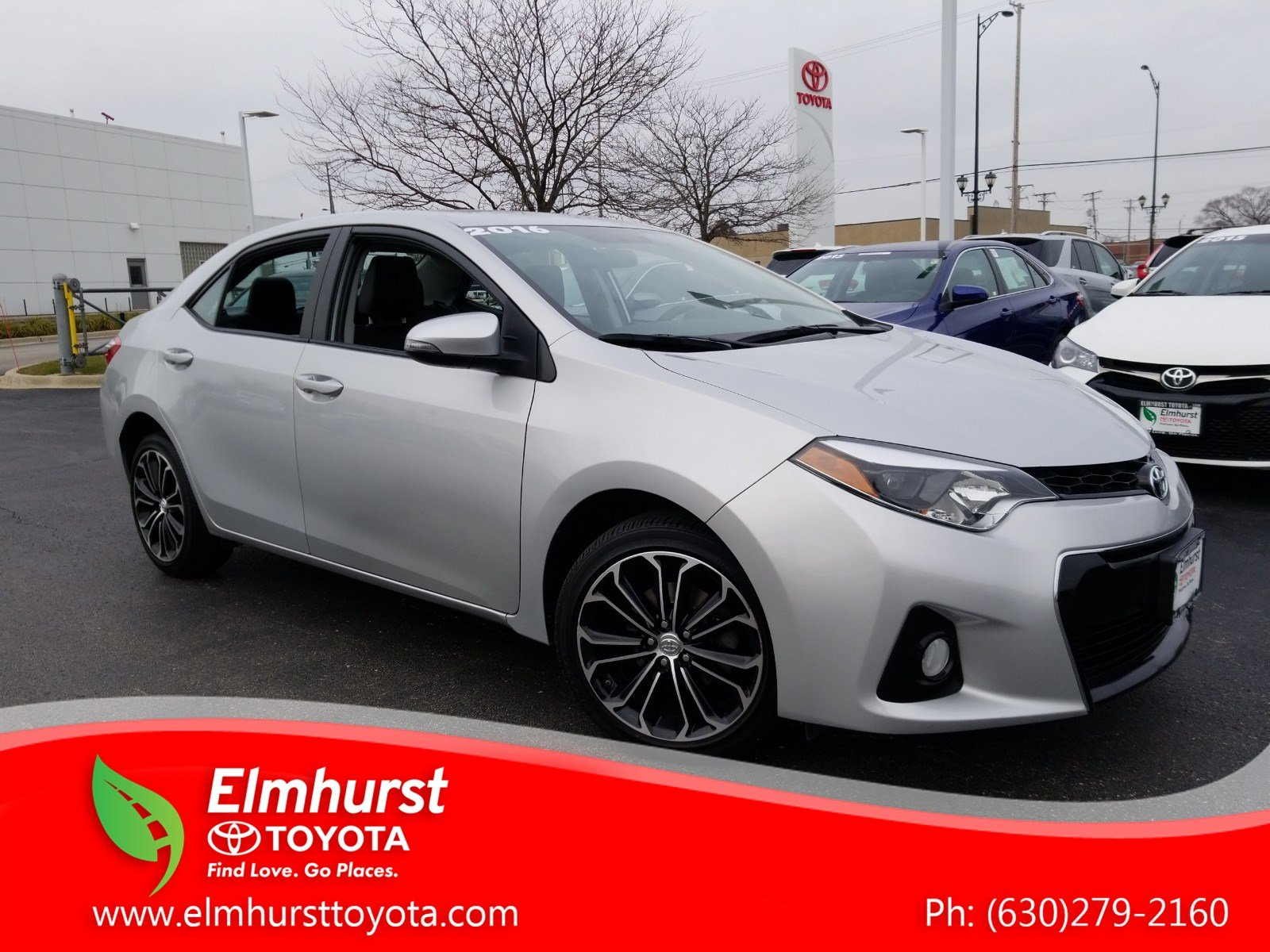Pre Owned 2016 Toyota Corolla S Plus 4D Sedan in Elmhurst 8863P