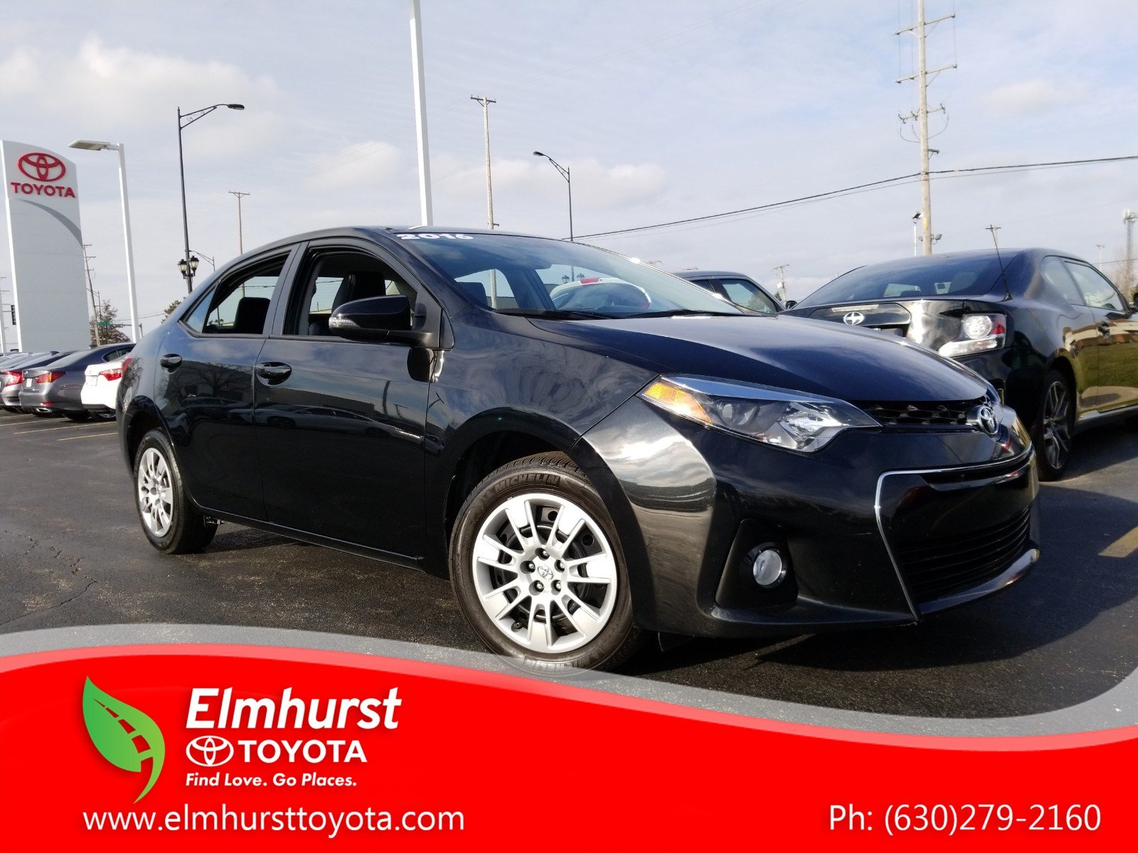 Pre Owned 2016 Toyota Corolla S 4D Sedan in Elmhurst 8862P
