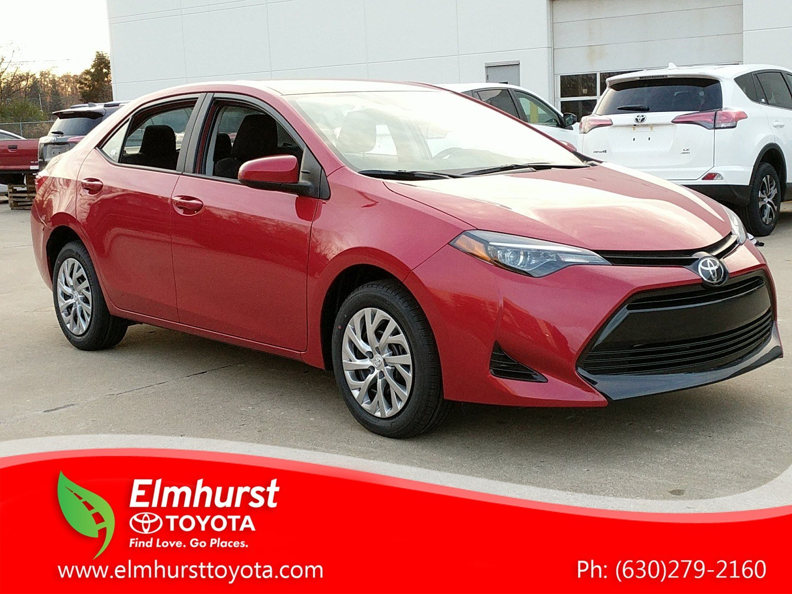 New 2019 Toyota Corolla LE 4dr Car in Elmhurst T