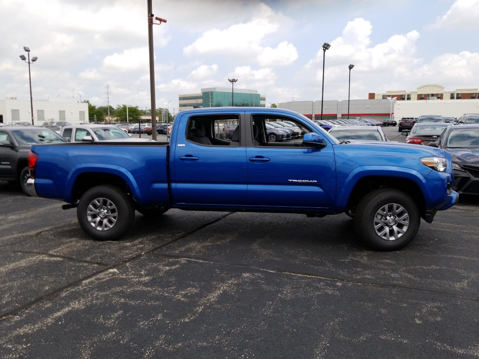 New 2018 Toyota Tacoma Sr5 Double Cab Long Bed