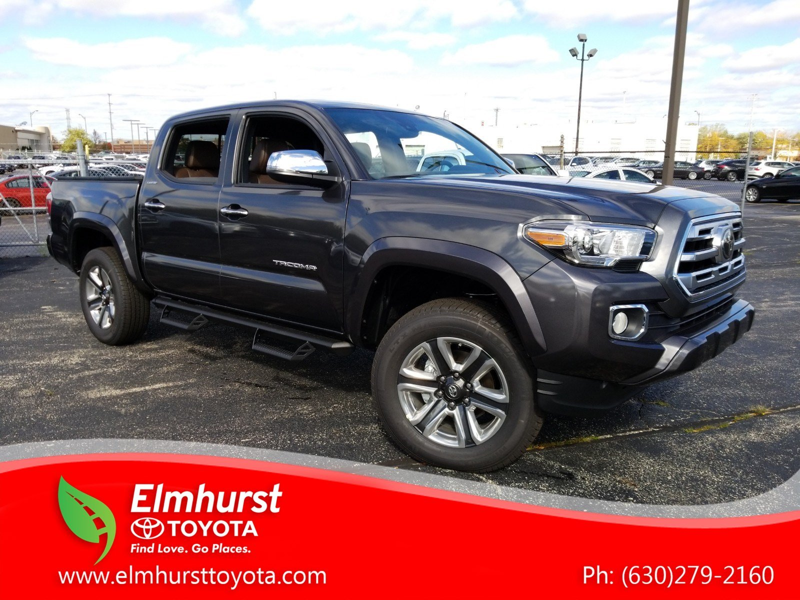 New 2019 Toyota Tacoma Limited Double Cab In Elmhurst Long Bed Fuel Hostage Wheels
