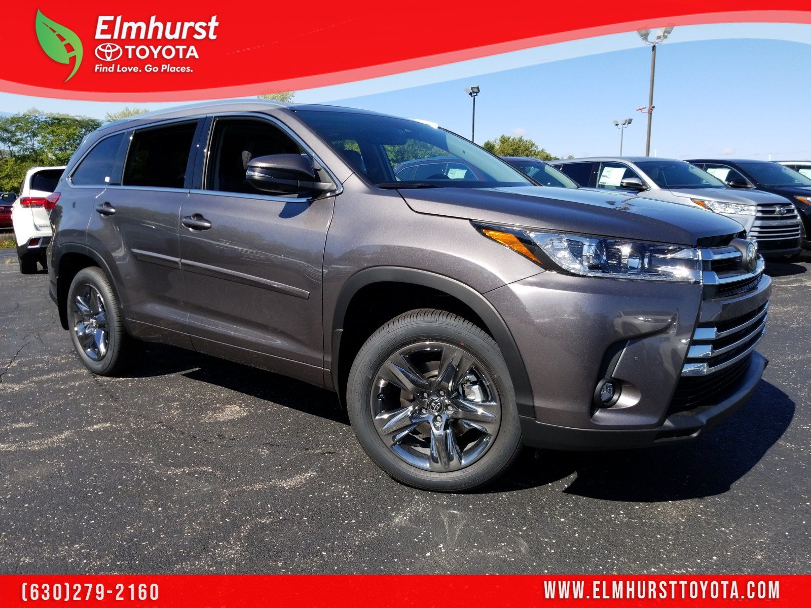 Toyota Highlander Limited >> New 2019 Toyota Highlander Limited Platinum Awd