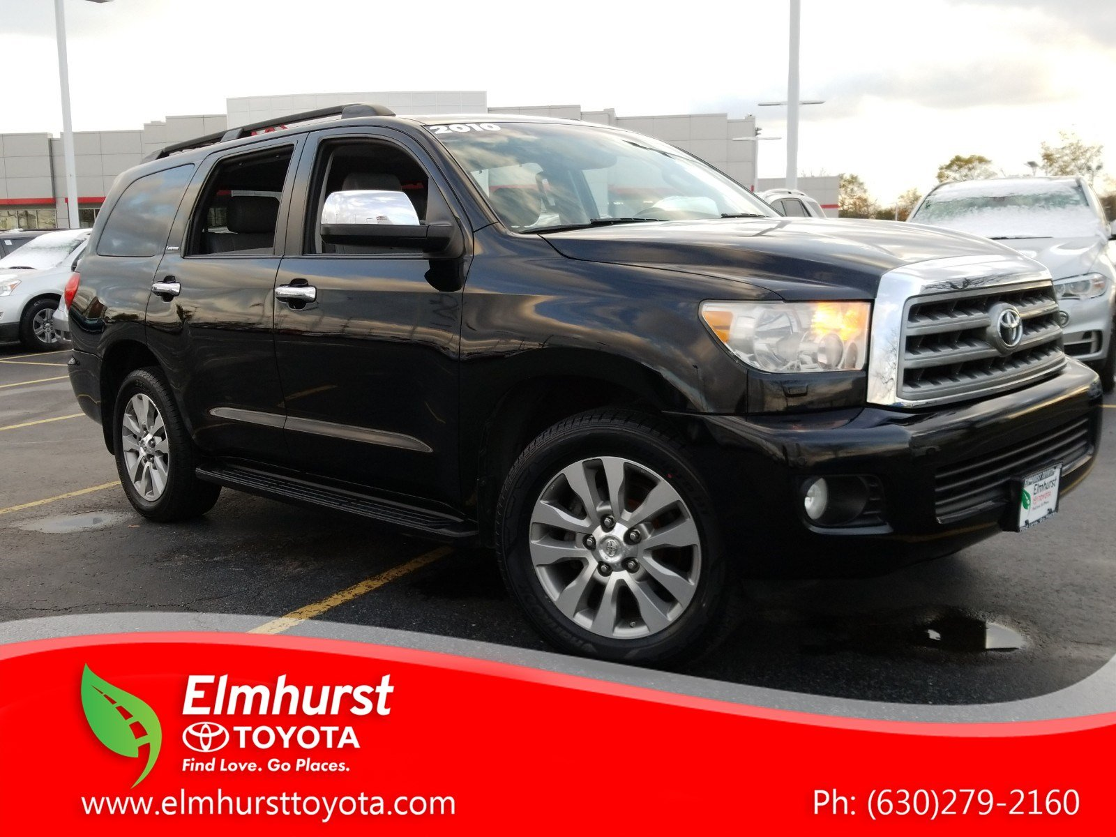 Pre Owned 2010 Toyota Sequoia Limited 4d Sport Utility In Elmhurst Fuel Filter Location