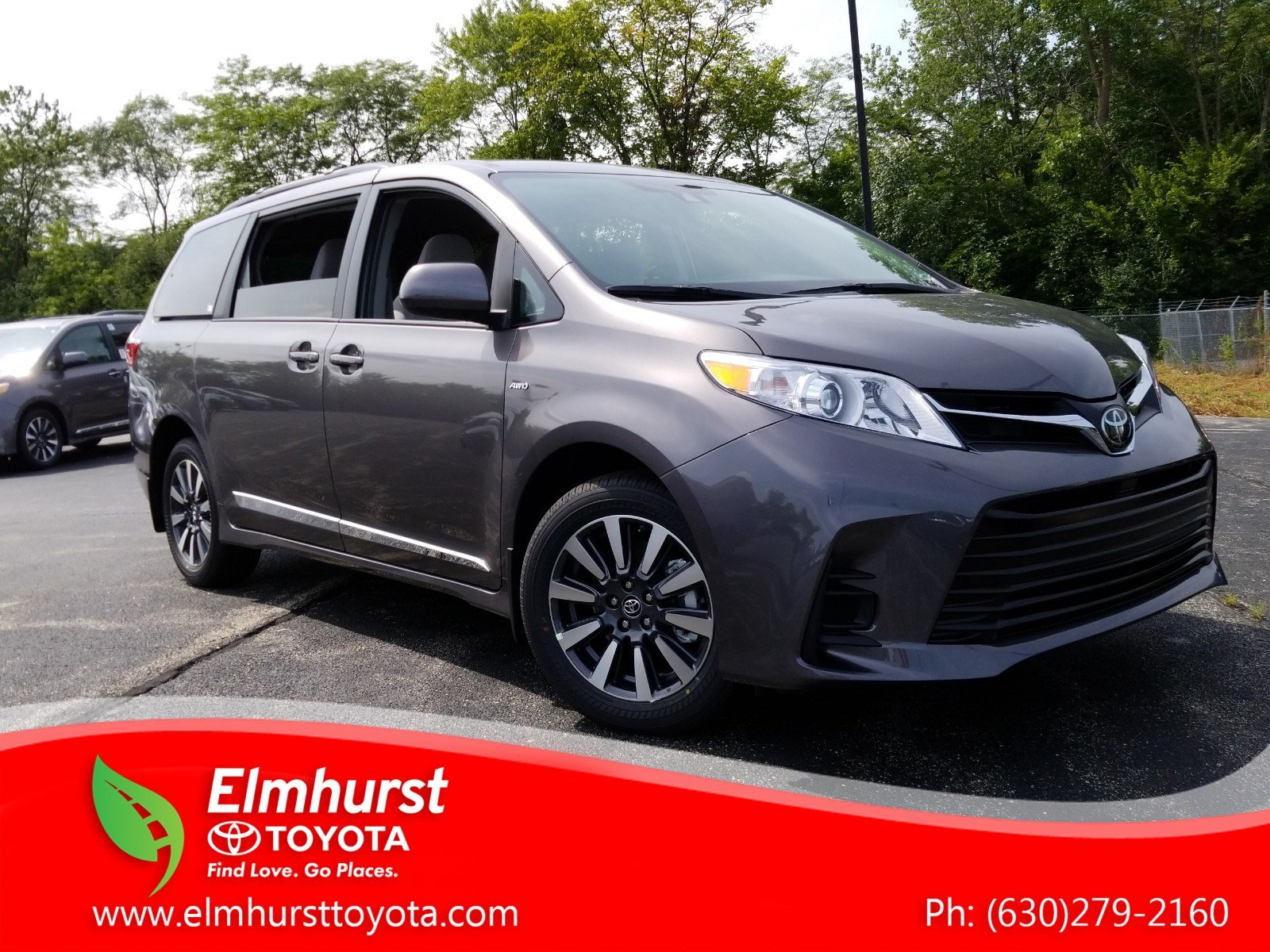 New 2019 Toyota Sienna LE AWD