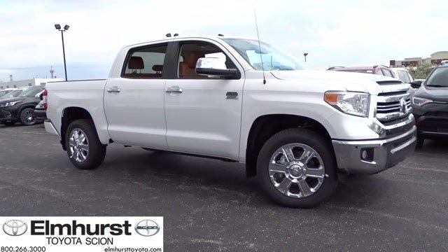 new 2017 toyota tundra 1794 edition crew cab pickup crew cab pickup in elmhurst t29728. Black Bedroom Furniture Sets. Home Design Ideas