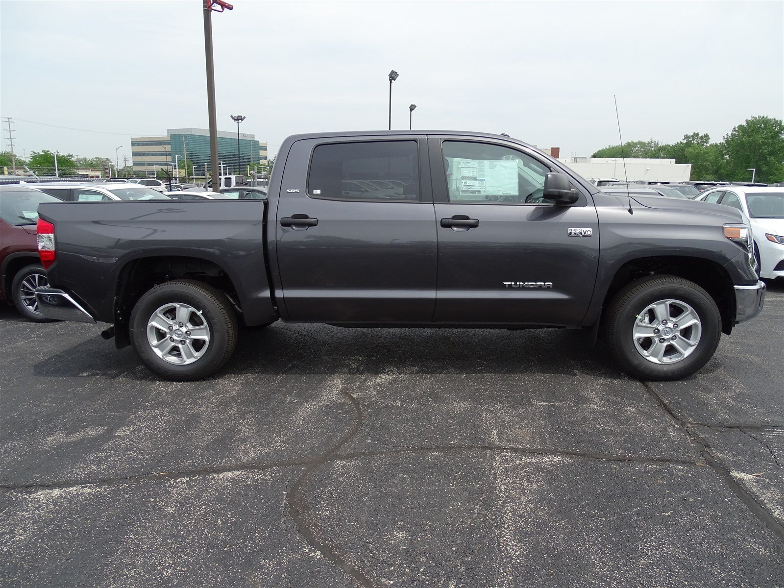 New 2018 Toyota Tundra Sr5 Crew Cab Pickup In 2004 Sequoia Wheels