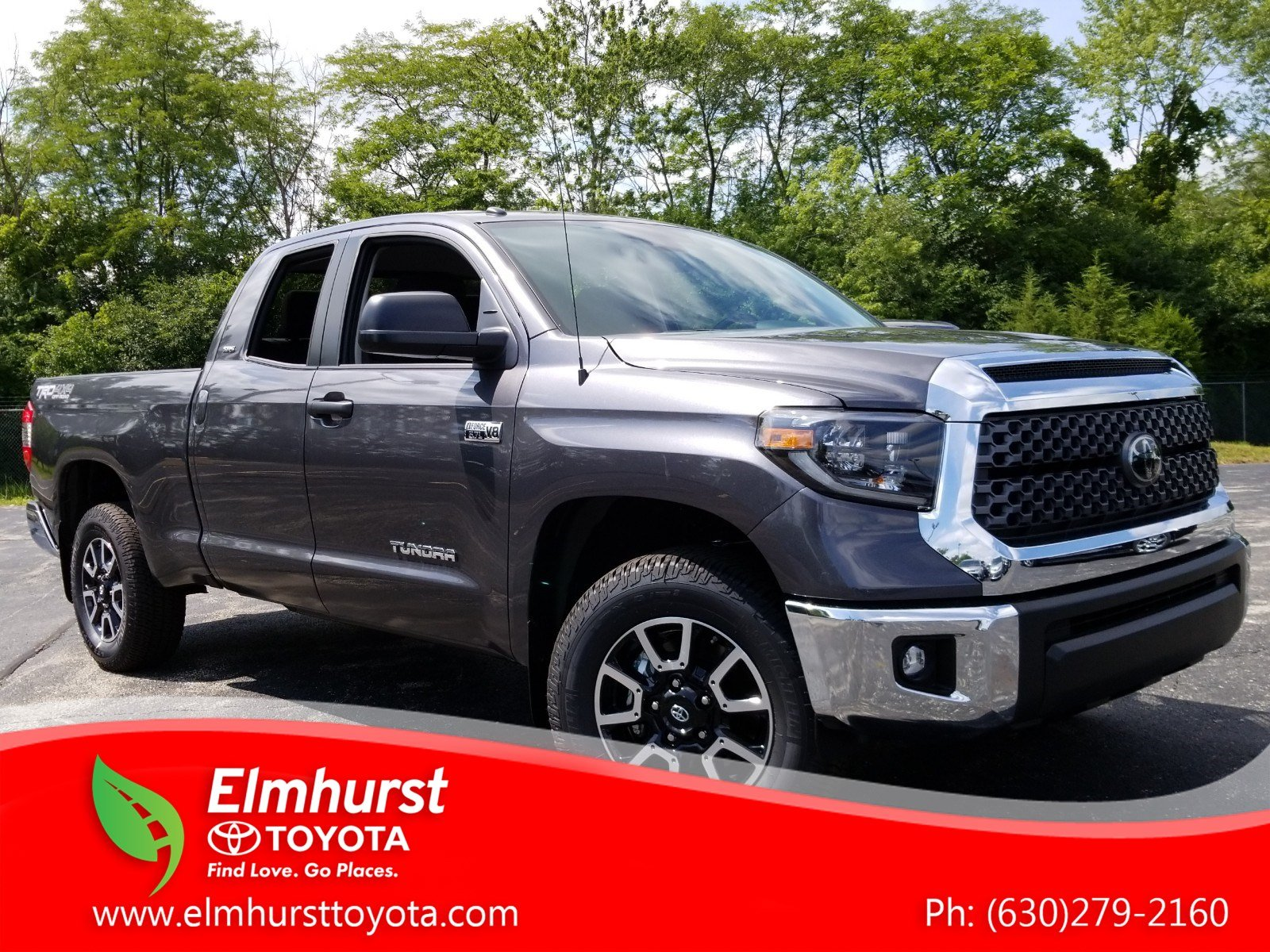 New 2019 Toyota Tundra 4WD SR5 With Navigation