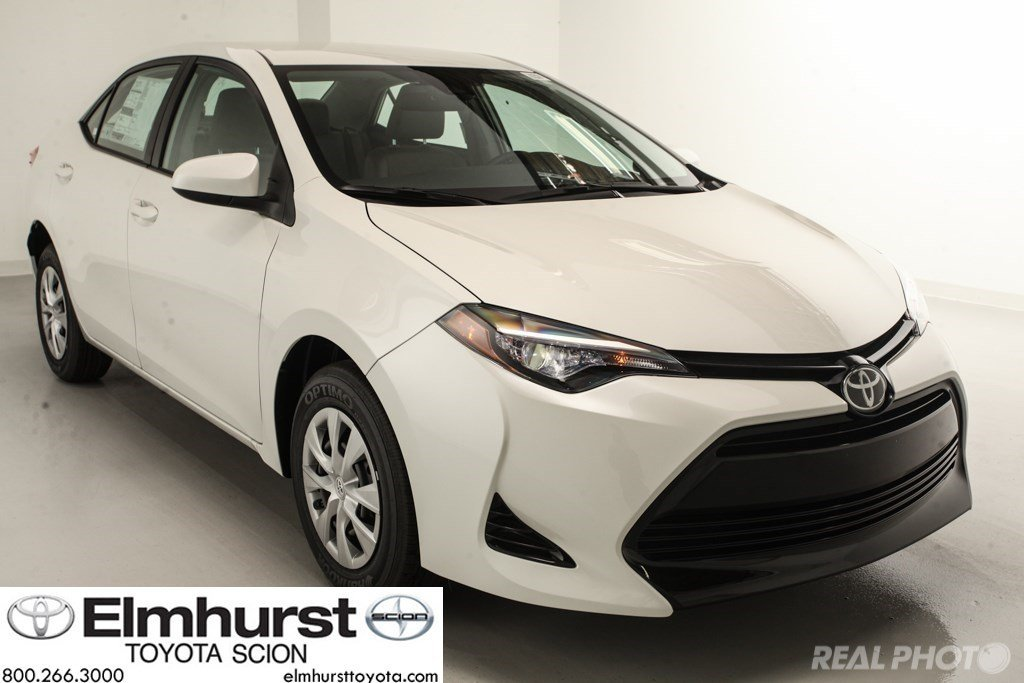 new 2017 toyota corolla le eco 4dr car in elmhurst t28952 elmhurst toyota. Black Bedroom Furniture Sets. Home Design Ideas