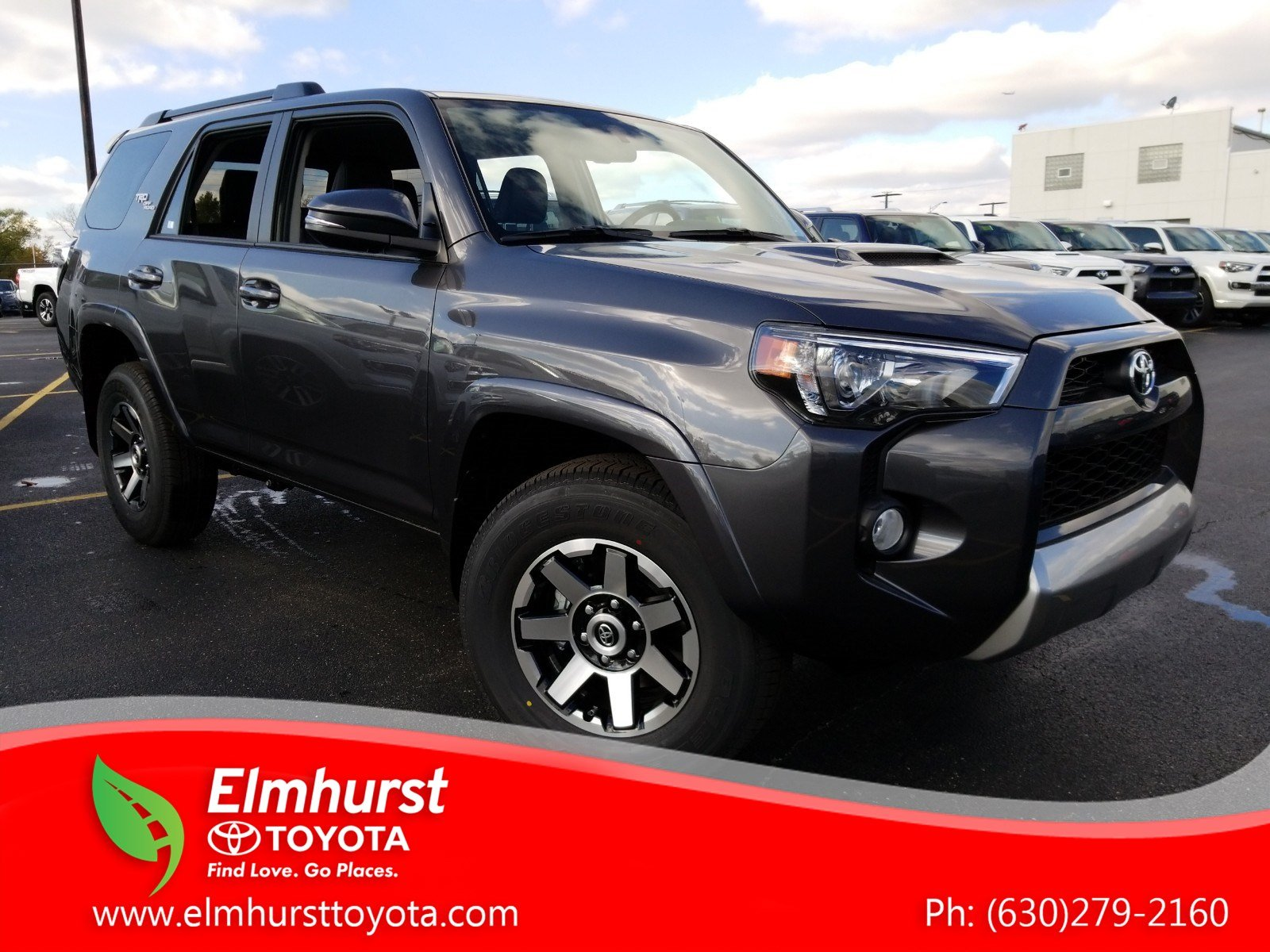 Toyota 4Runner Off Road >> New 2019 Toyota 4runner Trd Off Road Premium With Navigation 4wd