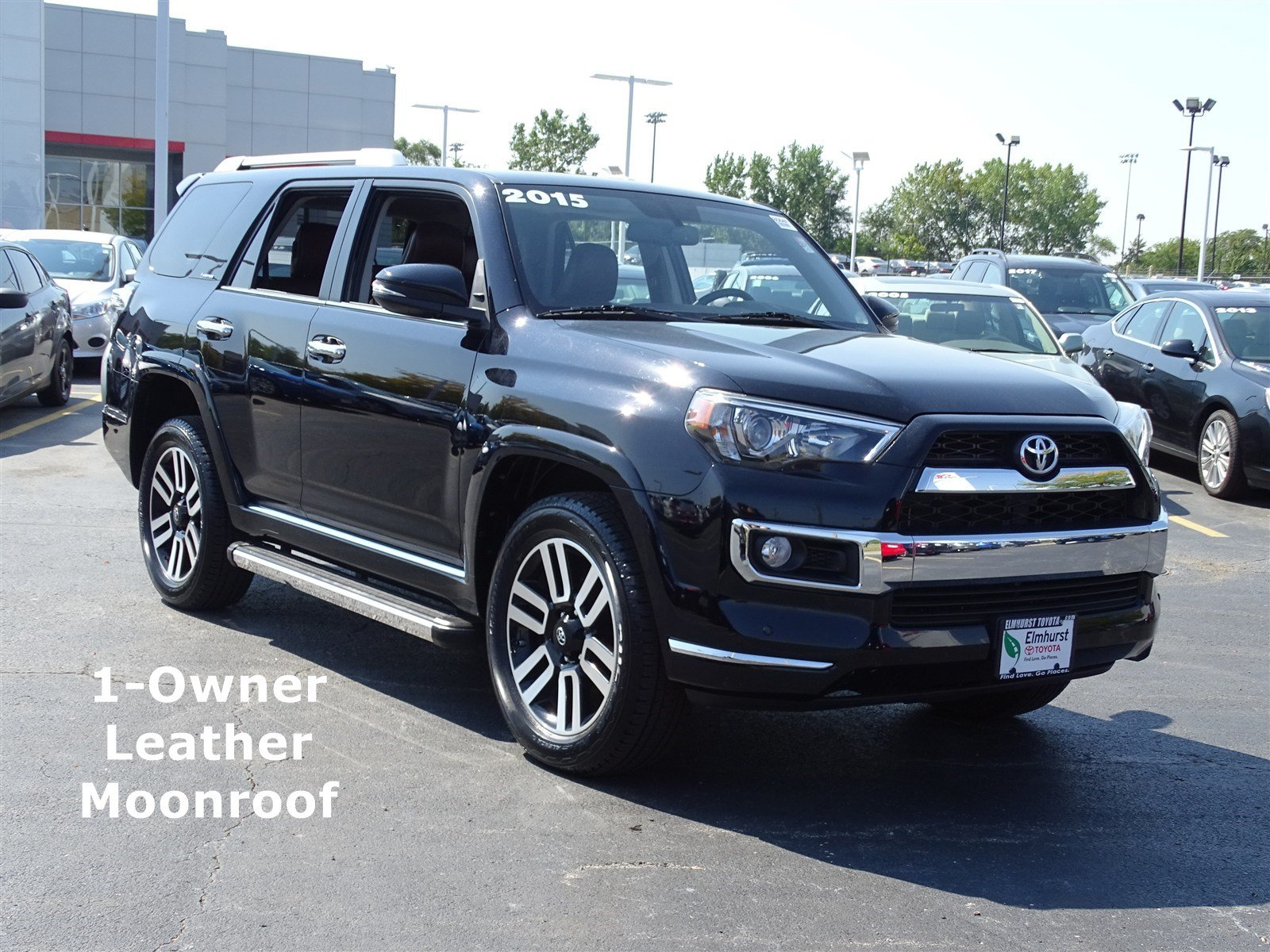 pre owned 2015 toyota 4runner limited 4d sport utility in elmhurst 8564p elmhurst toyota. Black Bedroom Furniture Sets. Home Design Ideas