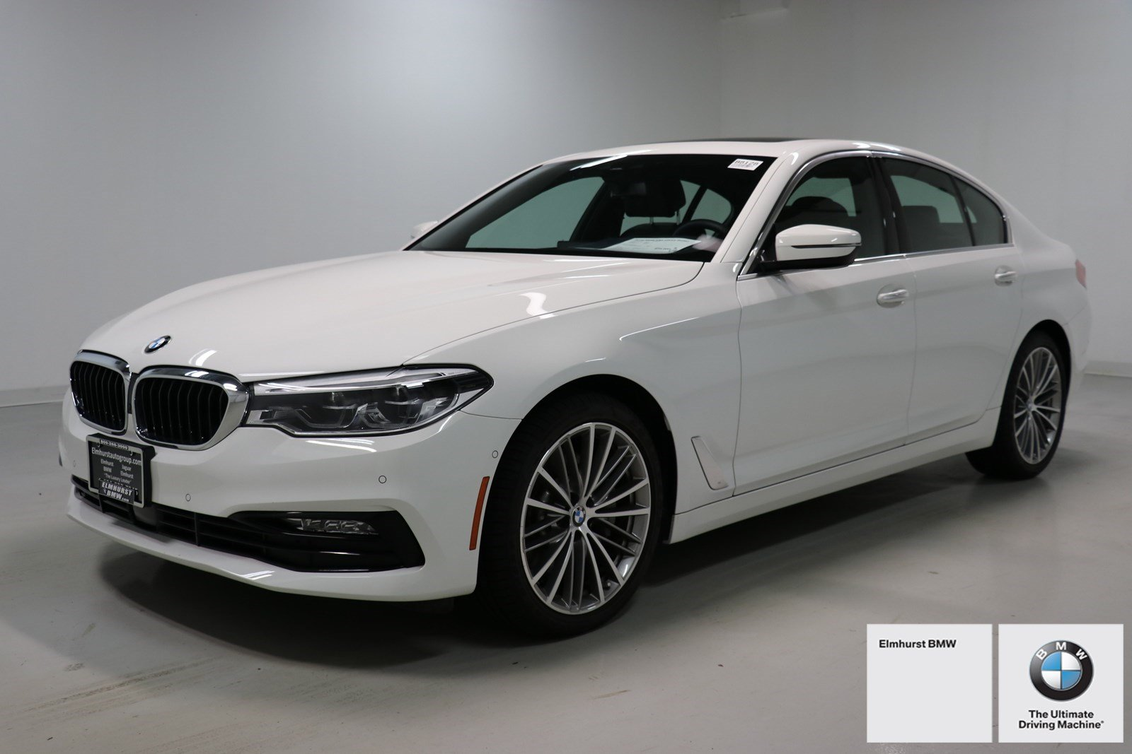 pre-owned 2018 bmw 5 series 530i xdrive 4dr car in elmhurst #b8128